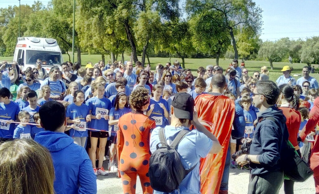La Escuela del Agua participa en «Corriendown», la fiesta de la solidaridad