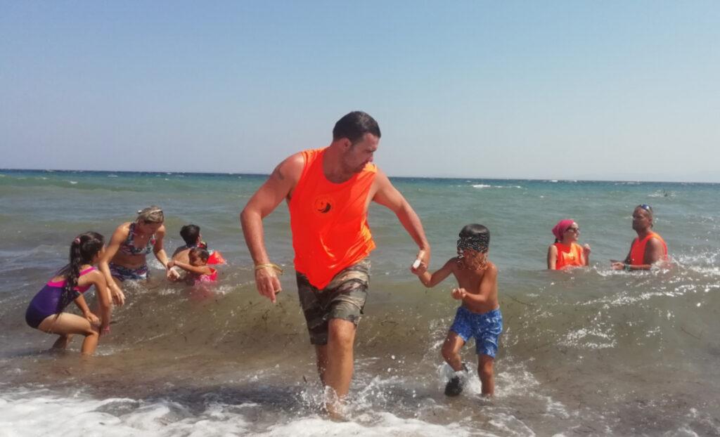 La Escuela del Agua dedica una jornada especial al drama de los refugiados en el Mediterráneo
