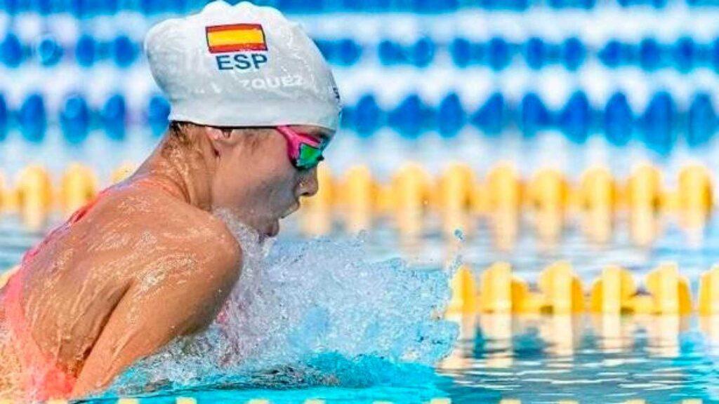 La Escuela del Agua felicita a la nadadora onubense Alba Vázquez por su medalla de oro en los mundiales de natación junior