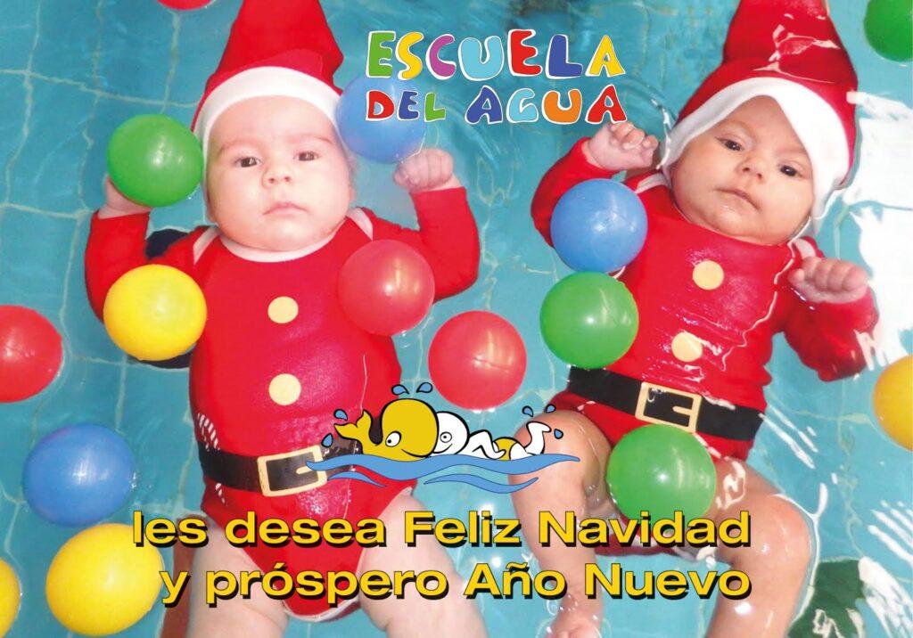 En la Escuela del Agua somos los primeros en decirte: ¡Féliz Navidad!