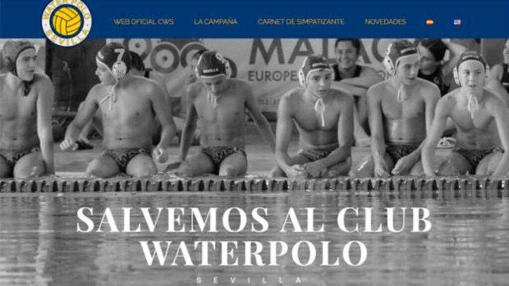 La Escuela de Agua apoya la campaña para salvar al Club Waterpolo Sevilla