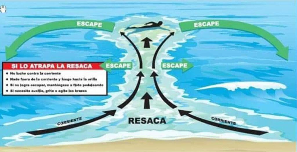 La Escuela del Agua te da consejos para que tus baños en el mar sean más seguros