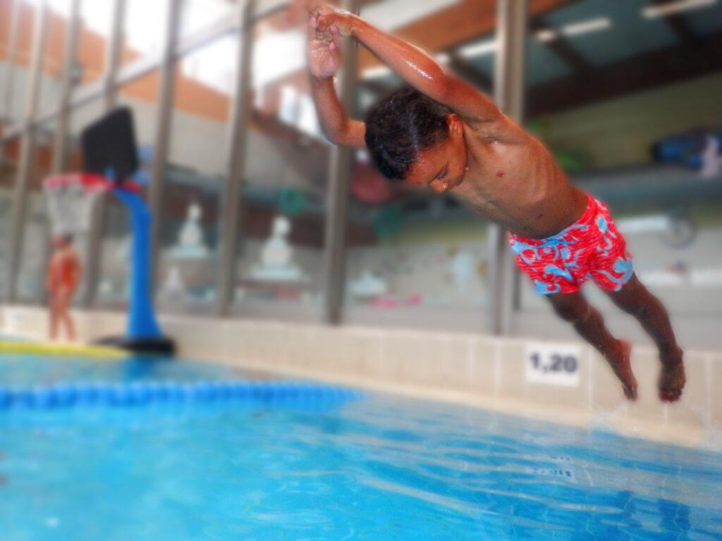 Escuela del Agua comienza el año con fuerzas y ganas de saltar al agua
